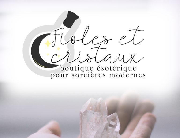 Logo Fioles et cristaux
