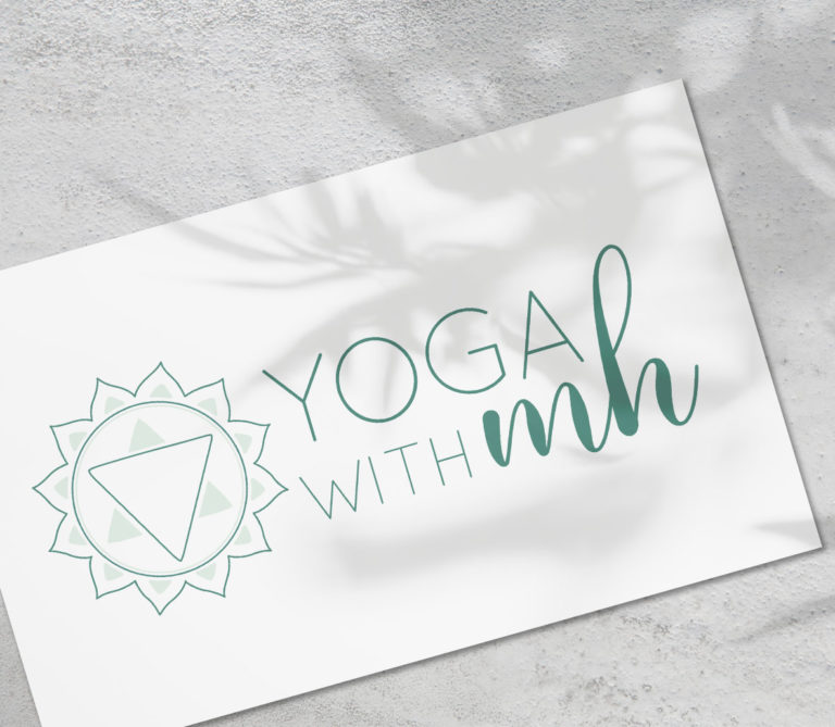 Logo Yoga With MH