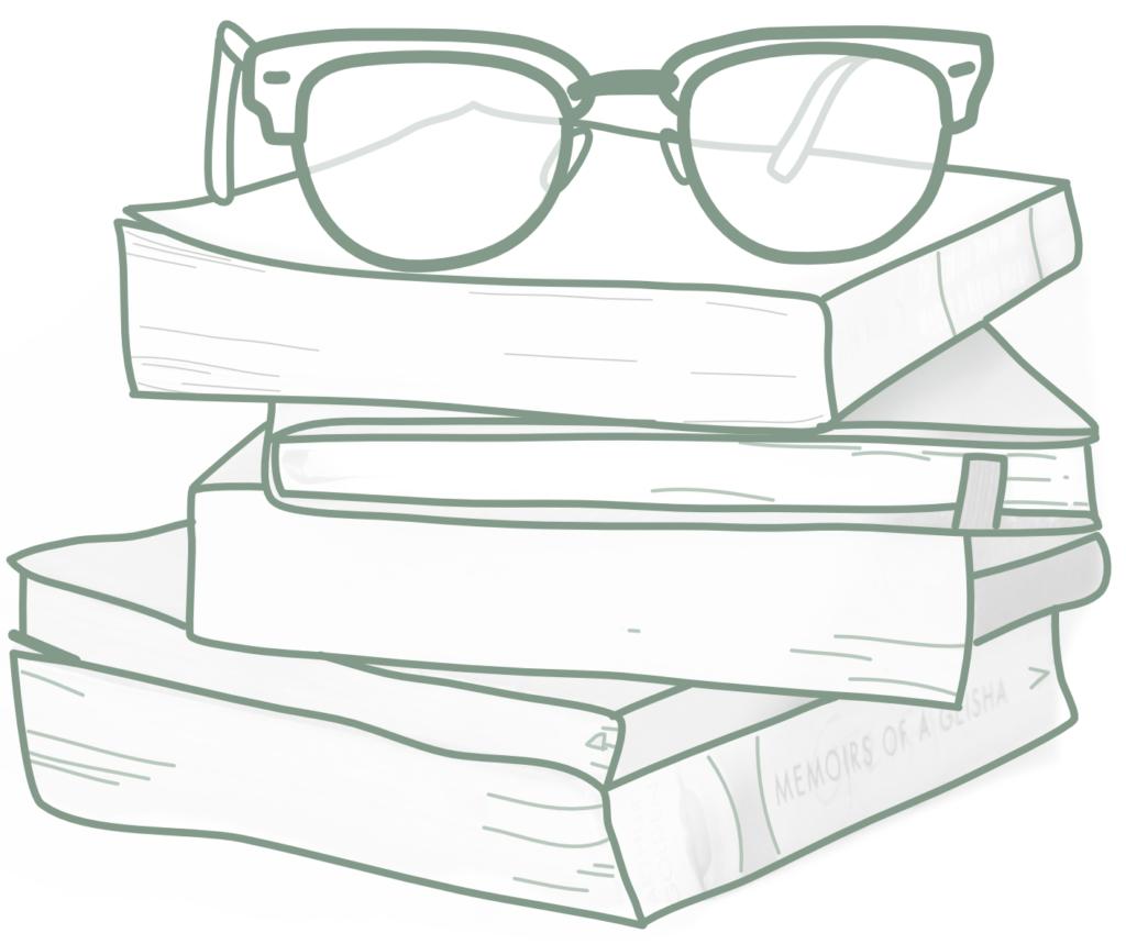 Dessin livres identité visuelle