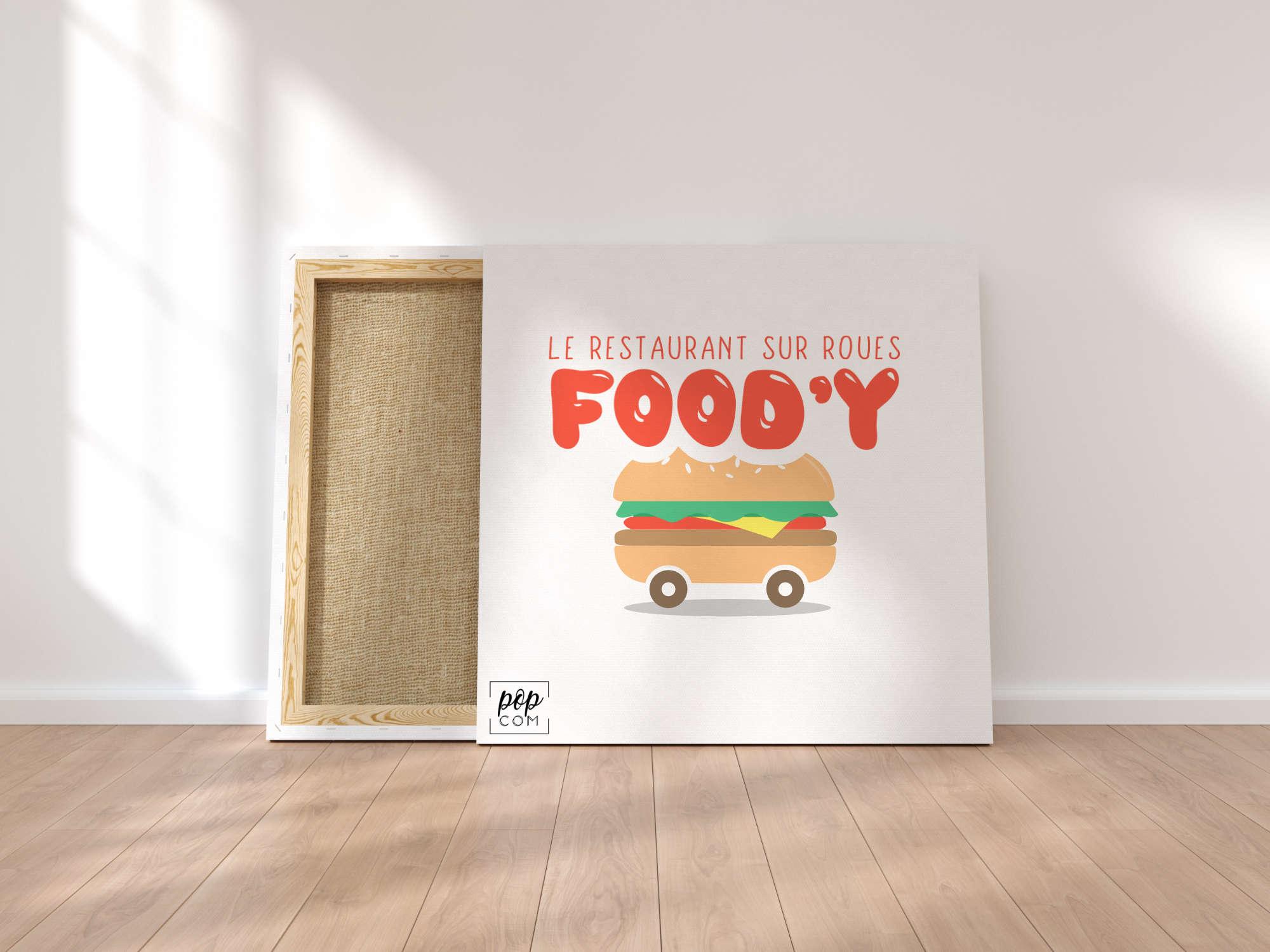Food truck logos à vendre
