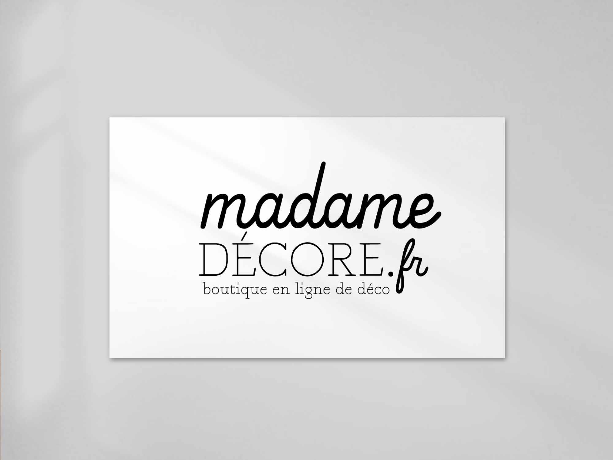 Logo madame décore