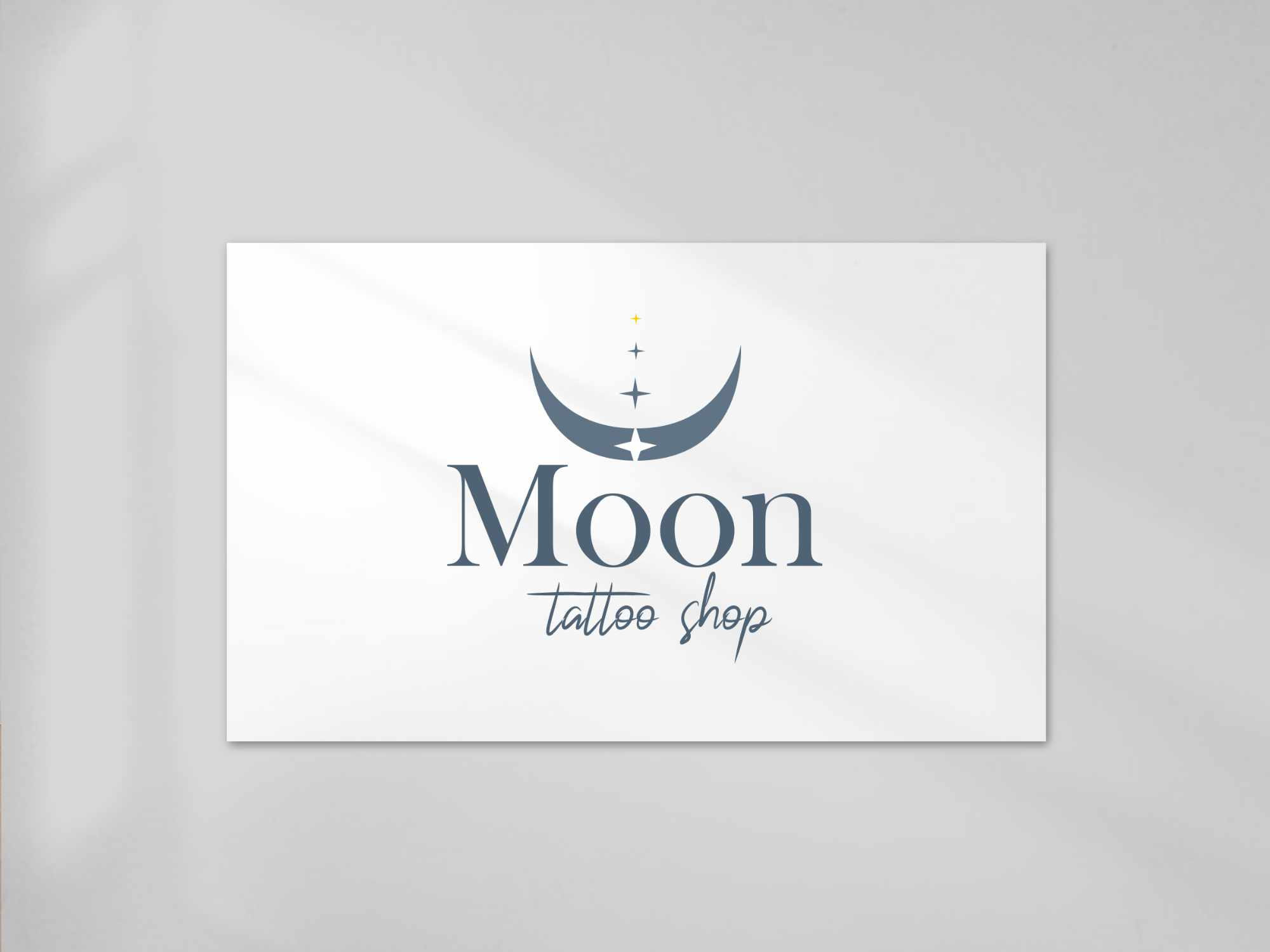 Logo Moon Tattoo salon de tatouage