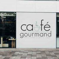logo café gourmand par Studio Pop Com